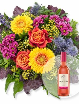 Indian Summer und Freixenet Mederano Rosado