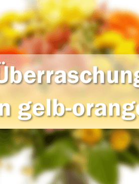 Traum in gelb-orange